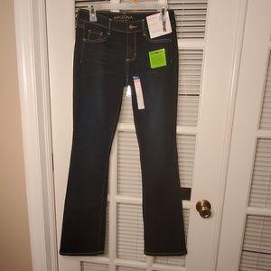 NWT Arizona perfect bootcut jeans